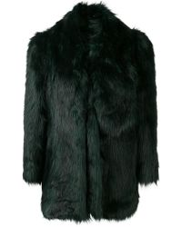 MISBHV - Oversized Faux Fur Jacket - Lyst