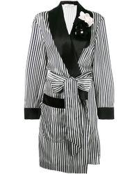 Lanvin - Striped Robe - Lyst