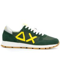 Sun 68 - Logo Low-top Trainers - Lyst