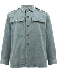 MYAR - Chest Pockets Shirt - Lyst