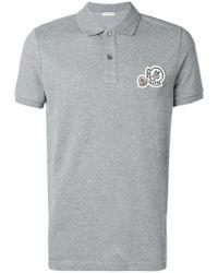 Moncler - Logo Polo Shirt - Lyst