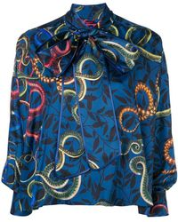 F.R.S For Restless Sleepers - Floral-print Shirt - Lyst