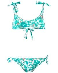 Emmanuela Swimwear | Painted Tree Print Bikini | Lyst