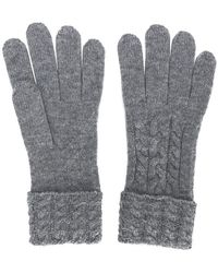 N.Peal Cashmere - Cable Knit Gloves - Lyst