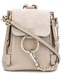 Chloé - Mini sac à dos Faye - Lyst