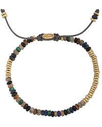 M. Cohen - Beaded Bracelet With 18k Gold Detail - Lyst