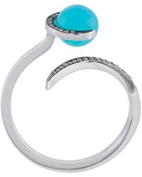 Christina Debs - Chalcedony Ring - Lyst