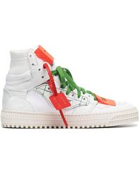 Off-White c/o Virgil Abloh - White Off Court 3.0 Leather Sneakers - Lyst