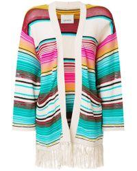 Laneus - Mexico Stripe Cardigan - Lyst
