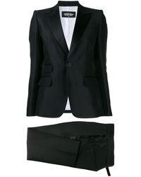 DSquared² Two-piece Trouser Suit - Black