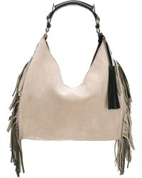 Santoni - Fringed Shoulder Bag - Lyst