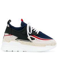 KENZO - Espadrilles Wedge Sneakers - Lyst