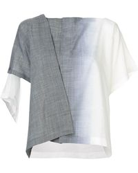 132 5. Issey Miyake - Issey Miyake Il76fd662 12 Gray ??? Synthetic->polyester - Lyst