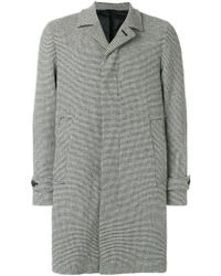 Hevò - Button-down Tailored Coat - Lyst
