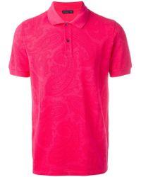 Etro - Classic Polo Shirt - Lyst