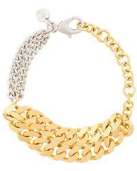 MM6 by Maison Martin Margiela - Chain-link Bracelet - Lyst