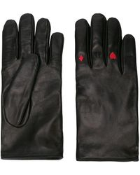 Yang Li - Card Suit Embroidered Gloves - Lyst