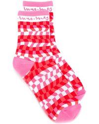 Vans Warped Checkerboard Socks