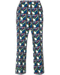 Parden's - Pave Printed Trouser - Lyst