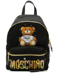 Moschino - Teddy Holiday Backpack - Lyst