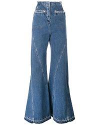 Esteban Cortazar - High Waist Flared Jeans - Lyst