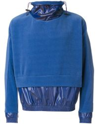 Cottweiler - Layered Sweater Anorak - Lyst