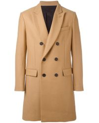 AMI - Double-breasted Coat - Lyst