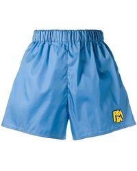 Prada - Shorts de nylon - Lyst