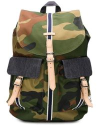 Herschel Supply Co. H-442 Backpack in Green for Men - Lyst 9eb6ce5e1d