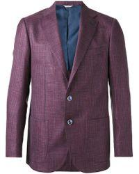 Fashion Clinic - Houndstooth Pattern Blazer - Lyst