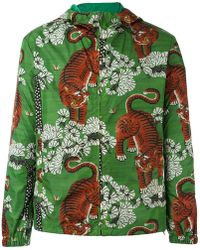 Gucci - Bengal Print Hooded Jacket - Lyst