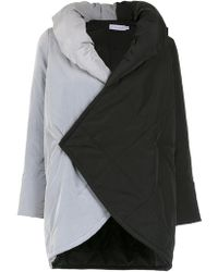 Mara Mac - Contrasting Panelled Coat - Lyst