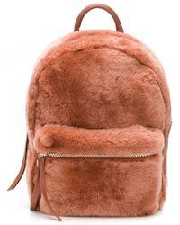 DESA NINETEENSEVENTYTWO - Fur Backpack - Lyst