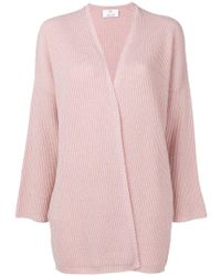 Allude - Open Cardigan - Lyst