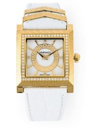 Versace - Greek Key Watch - Lyst