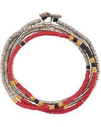 M. Cohen - Wickelarmband mit Knebelverschluss - Lyst