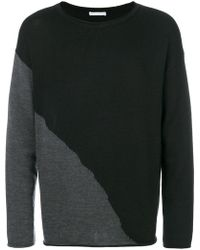 Societe Anonyme - Contrast Knit Jumper - Lyst