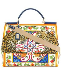Dolce & Gabbana - Large Sicily Tote - Lyst