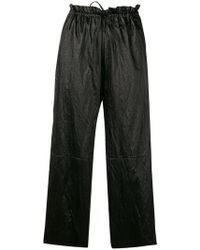 MM6 by Maison Martin Margiela - High-waisted Culottes - Lyst