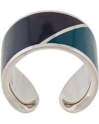 Lanvin - Colour-block Ring - Lyst