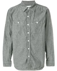 Engineered Garments - Chambray Patch Pocket Shirt - Lyst