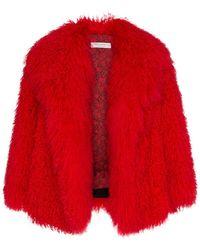Philosophy Di Lorenzo Serafini - Mongolian Fur Coat - Lyst