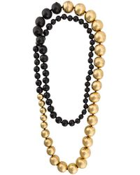 Monies - Large Beaded Necklace - Lyst