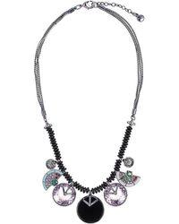 Camila Klein - Resin Pendant Necklace - Lyst