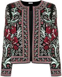 Vilshenko - Embroidered Floral Jacket - Lyst