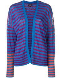 Woolrich - Striped Cardigan - Lyst