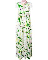 Si-jay - Abstract Print Dress - Lyst