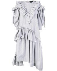 Simone Rocha - Kleid mit Rüschen - Lyst