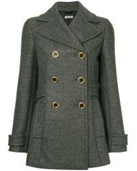 Miu Miu - Military Jacket - Lyst