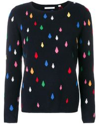Chinti & Parker - Cashmere Rain Drop Knitted Top - Lyst